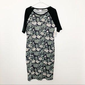 NWT LuLaRoe Julia Dress XL #2201